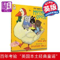 【中商原版】【送音频】现货鹅妈妈童谣 英文原版绘本 My very first mother Goose 0-3-6岁