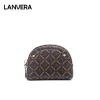 LANVERA2019新款潮流女士包包时尚百搭迷你零钱包小巧硬币包