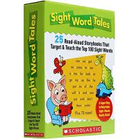 【中商原版】Sight Word Tales 学乐常见词故事套装25册 绘本 儿童启蒙高频词汇拼读