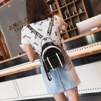 新款夏季双肩包亮片女青年韩版百搭2018新款潮时尚学生包包小背包