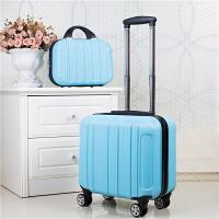 18寸登机密码箱16寸小行李箱女迷你可爱拉杆箱18寸万向轮旅行箱