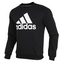 Adidas阿迪达斯男装运动服休闲加绒保暖圆领卫衣套头衫GC7336