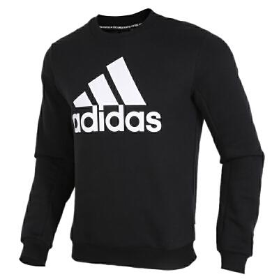 Adidas阿迪达斯男装运动服休闲加绒保暖圆领卫衣套头衫GC7336 运动服休闲加绒保暖圆领卫衣套头衫