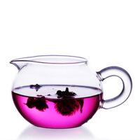 玻璃茶具 苹果茶海 圆形公道杯 玻璃公道杯茶 260毫升
