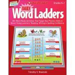【预订】Daily Word Ladders, Gr. K-1: 80+ Word Study Activities