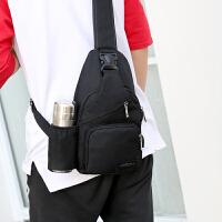 胸包男士包包帆布单肩包斜挎包时尚潮流小运动休闲腰包情侣包