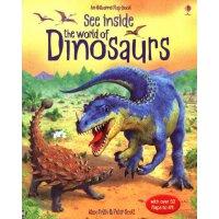 See Inside: The World of Dinosaurs 看看内部翻翻书:恐龙世界