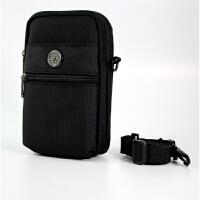 男士腰包手机腰包5.5-6寸穿皮带腰包迷你腰包牛津包小挎包