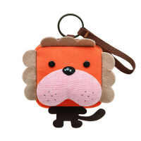 糖果兔方块零钱包三色补丁原创可爱布艺硬币包女迷你钥匙包零钱包