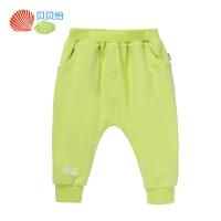 【99元3件】贝贝怡新款婴儿童装裤子长裤宝宝哈伦裤151K038