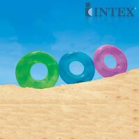 INTEX怀旧泳圈59260 儿童游泳圈 成人游泳圈 救生圈 浮圈