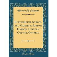 【预订】Rittenhouse School and Gardens, Jordan Harbor, Lincoln