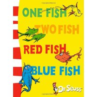 苏斯博士绘本系列 Dr.Seuss One Fish Two Fish Red Fish Blue Fish