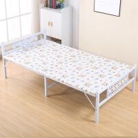 办公室折叠床单人午睡床折叠床单人床双人加固型陪护床钢丝床午休床简易木板床