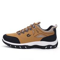 时尚户外登山鞋 男防滑户外跑步鞋低帮徒步鞋大码45 46 47运动鞋男