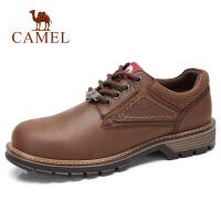 camel骆驼男鞋 秋季新品牛皮马丁鞋潮流工装鞋时尚户外休闲男鞋子