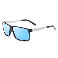 方形偏光太阳镜男司机驾驶开车眼睛时尚潮人个性眼镜墨镜男士