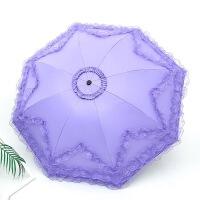 蕾丝花边太阳伞防晒线家居生活日用公主洋伞遮阳黑胶晴雨伞两用