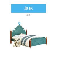 20190402163130851床套房家具地中海�P室 1.2米小孩床小床1.35m�稳舜�