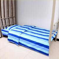 君别 学生宿舍三件套 棉单人床单被罩套枕套寝室上下铺床单式床上用品套件