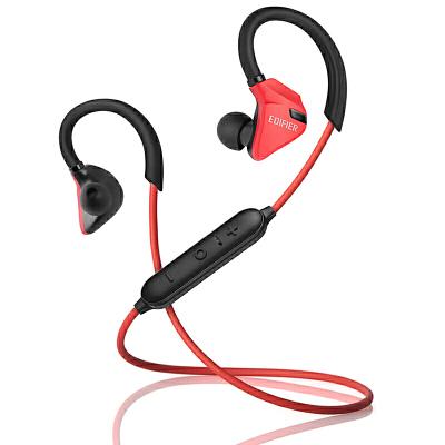 Edifier 漫步者 W296BT 立体声蓝牙运动耳机 入耳式耳机 手机耳机 带麦可通话 酷黑红立体声蓝牙运动耳机