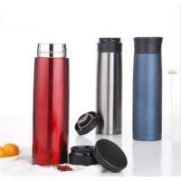 500ML全304不锈钢车载杯 便携式双层保温杯保温瓶PR123红色