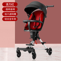 溜娃儿童手推车宝宝遛娃轻便婴儿可折叠四轮溜娃神器双向三轮车