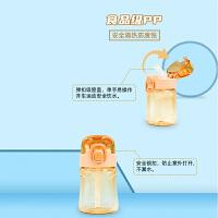超级飞侠儿童水杯吸管水杯小学生便携夏天防摔 400ml大容量幼儿园
