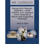 George Hunt Peacock, Appellant, v. North Carolina. U.S. Sup