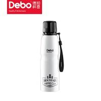 德铂Debo 750ml运动户外手提杯304不锈钢水杯大容量旅行水壶DEP-503