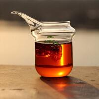 耐热玻璃茶具 琉璃双耳公道杯 茶海 长嘴鹰嘴杯龙舌兰茶海250ml