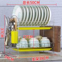 【家装节 夏季狂欢】厨房置物架用品用具晾洗放沥水碗架碗柜碗碟碗筷盘刀收纳盒餐具架