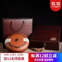 茶饼罐 茶叶盒子 普洱茶包装盒空礼盒 紫砂茶叶罐 陶瓷茶叶礼盒装茶饼罐