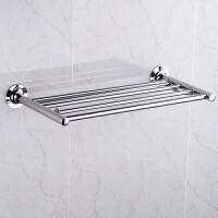 毛巾架不锈钢卫生间置物架浴室壁挂衣服架宾馆卫浴挂件欧式浴巾架