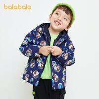 【1.27超品 3件3折:119.4】巴拉巴拉童�b男童�_�h衣棉服�杉�套外套����棉衣�和�冬�b