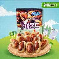 【包邮】韩国进口 好丽友扁桃仁糖 坚果糖果小零食 90g*2袋