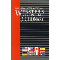 新国际韦氏小小袖珍词典 The New International Webster's Vest Pocket Dic