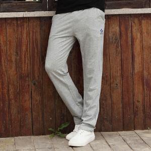 古星春夏薄款运动裤男士休闲长裤子直筒裤卫裤大码宽松跑步篮球裤