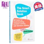 【中商原版】实用的解决方法:头脑风暴、解决问题、做决定的68个工具 英文原版 The Smart Solution B