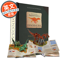 史前恐龙百科立体书 英文原版 Encyclopedia Prehistorica Dinosaurs: The Def