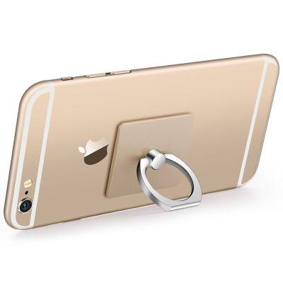 免邮 手机指环支架卡扣式手机扣6苹果7通用桌面粘贴式懒人s金属手环免邮发圆通 申通