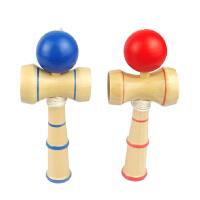 木制儿童益智技巧球剑球剑玉手眼协调健身球棒手感早教玩具