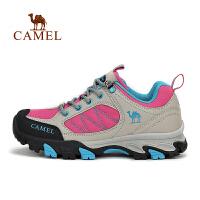 camel骆驼户外徒步鞋 女款防滑透气登山徒步鞋