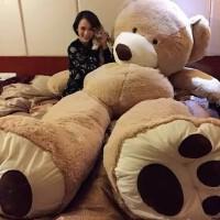 毛绒玩具熊公仔泰迪熊布娃娃公仔抱抱熊大号 创意生日礼物送女生