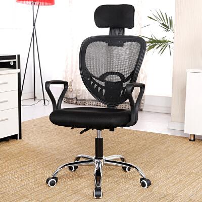 亿家达电脑椅 家用办公椅人体工学椅升降转椅座椅网布老板椅子五星脚款 工字脚款 自由选择