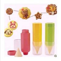 普润(PU RUN) 烘焙曲奇饼干模具 美食绘画笔3件套装面包制作工具 颜色随机发货