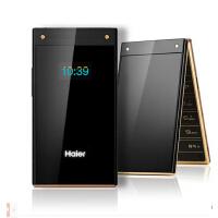 Haier/海尔 M316触屏翻盖手机男女款老人机大屏大声老年老人手机