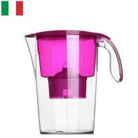 【当当海外购】意大利原装进口 莱卡(LAICA)双导流滤水壶(配滤芯)2.3L J703(紫色)