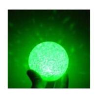七彩水晶球小夜灯8厘米水晶圆球小夜灯水晶小夜灯卧室床头灯小夜