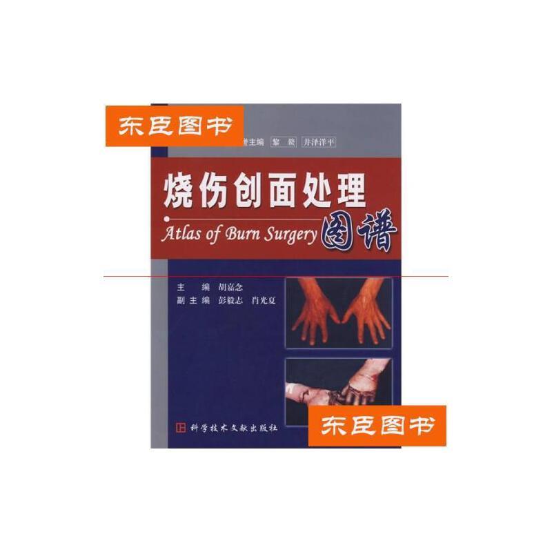 【旧书二手书9成新】烧伤创面处理胡嘉念编科技文献出版社